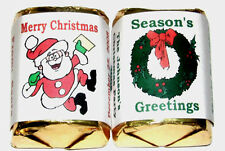60 CHRISTMAS CANDY WRAPPERS LABELS FAVORS