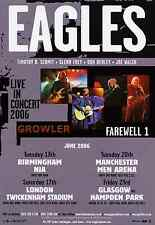 THE EAGLES 2006 TOUR FLYER - GENUINE RARE LIVE CONCERT MUSIC PROMO - DON HENLEY