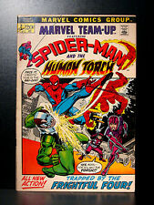COMICS: Marvel: Marvel Team-Up #2 (1972), Spiderman/Human Torch - RARE