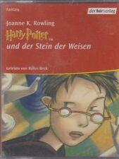 Joanne K. Rowling Harry Potter und der Stein der Weisen 6 Cassetten 3 Teile