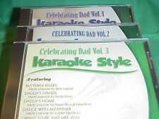 Celebrating Dad ~ #1, 2 & 3 ~ Christian ~ Daywind ~ Karaoke Style ~ CD+G