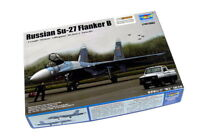 TRUMPETER Aircraft Model 1/144 Russian Su-27 Flanker B Scale Hobby 03909 P3909