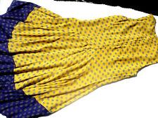 Kleid H&M Gr. 38 weit schwingend superschön 100% Vikose gefüttert
