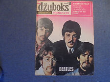 THE BEATLES ON COVER 1967 EXYU MOVIE MAGAZINE #2 (K-1)