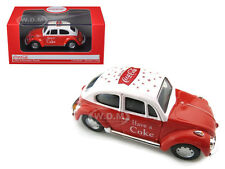 1966 VOLKSWAGEN BEETLE RED COCA COLA 1/43 DIECAST CAR MODEL BY MCC 440030