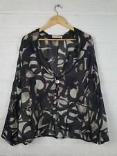 Windsmoor Black Beige Silk Jacket Size UK 20 Wedding Occasion