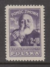 POLAND  Sc.# B 57. Brother Albert, tax for Winter Help.  MVLH
