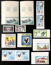 Cameroun Cameroon 11 Imperforate Proof MNH Very Fine France Collection Africa