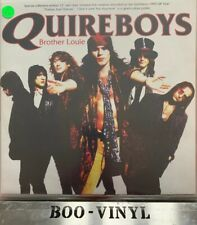 """Quire Boys - Brother Louie UK 12"""" Poster   Coloured Vinyl Rare Nr Mint Con"""