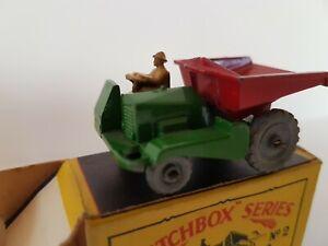 Matchbox No. 2 Dumper truck (1953)