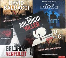 XL HÖRBUCH-PAKET |  5 x Krimi - Thriller von David Baldacci auf 30 CD !!!