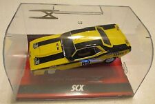 Scx-2008-Digital-Plymouth -Aar-Cuda-Yellow-Chimie-Br and New! Rare Hard To Find!