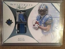 2008 ULTIMATE KEVIN SMITH PRIME 4CLR DUAL ROOKIE JERSEY PATCH 1/15! FIRST 1 RARE