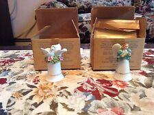 avon porcelain doves and angel
