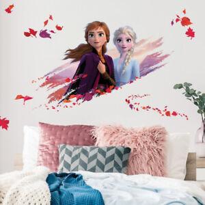 Roommates - DISNEY Frozen II Elsa und Anna - Wandtattoo Wandsticker Wandilder
