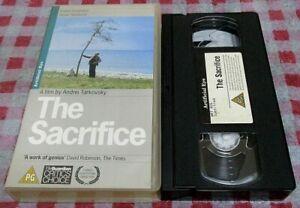 The Sacrifice - Artificial Eye VHS video - Andrei Tarkovsky