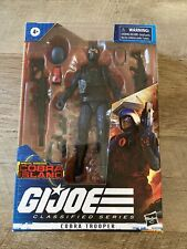 "GI Joe Classified Cobra Trooper 6"" Island exclusive figure 2020 black collar"