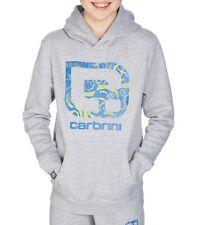 Carbrini Kids Grey/Blue Aztex O/H Hoodie