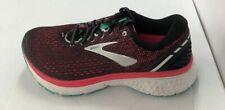 Brooks Women's Ghost 11 Running Shoes Pink/Black/Green Size 8 Medium (B)