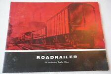 c1960s Roadrailer for the Railway Traffic Officer Publicity Booklet