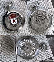 MOLNIJA 3602 Pocket Watch Red Garde WW2 Elite Force Russian Military