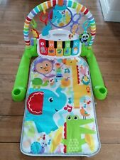 Fisherprice Deluxe Kick & Play Piano Play Gym Mat Baby Toy