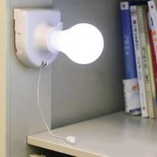 2X  Battery Operated Desk Light Loft  Shed Van Bedside LED Lamp Super Bright 49