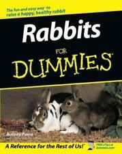 Rabbits for Dummies : Audrey Pavia  : New Softcover  @ZB