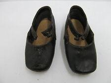 MES-41207 Alte Leder-Kinder/Puppenschuhe L:ca.11,8cm,gemarkt Fagon Pinet,