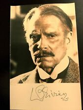 """RARE Antique Laurence Olivier Hand Signed autographed 3 1/2"""" x 5 1/2"""" photo"""
