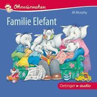 OHRWÜRMCHEN FAMILIE ELEFANT - MURPHY,JILL   CD NEW