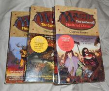 Magic The Gathering Book Lot of 3 (1995) Cursed Land Final Sacrifice +