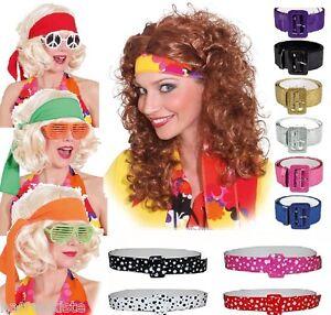 Stirnband Kopfband Halstuch Gürtel Hippie Hippy 70erJahre Kostüm Kleid Party