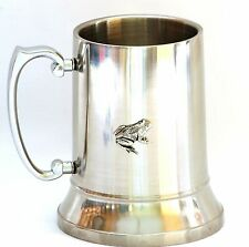 Frog Tankard 1 Pint Pewter Emblem Ideal Pub Drinker Gift for Nature Enthusiast