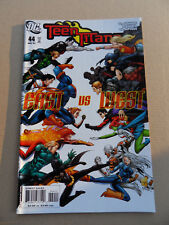 Teen Titans 44 .East Vs West .  DC 2007 . VF