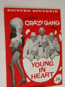 CRAZY GANG       theatre programme.....1960    Young At Heart