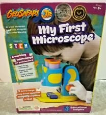 My First Microscope Beginner Science Learning Resources Geosafari Jr Sealed NIB