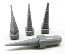 Bend N Coiler Wire Wrapping Mandrel Forming Mandrels Set 4 / 46 Multi Shapes 4pc