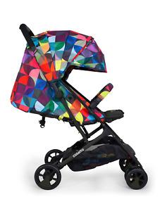 Cosatto Stroller Woosh 2 Kaleidoscope Lightweight Compact Foldable Pushchair