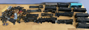 American Flyer Parts Lot Tenders, Locomotive Shells, Wheels & Miscellaneous