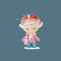 POP MART x SESAME STREET Party Pigeon Bert Mini Figure Designer Art Toy Cute New
