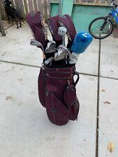 Women's RAM Laser Golf Club Set Driver, Woods, Callaway Bag,  Putter