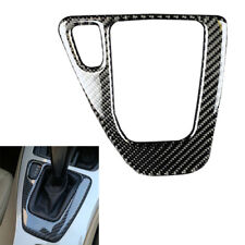 Carbon Fiber Gear Shift Control Panel Cover Sticker for 3 Series BMW E90 E92 E93
