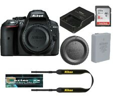 Sale Nikon D5300 Dslr Camera Body Black Retail Box + Free 8GB Memory Card
