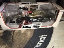 2017 James Hinchcliffe Arrow 1/18 Gold Greenlight Indy Autographed IndyCar