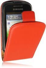 Samsung Galaxy Star S5280 Flip Style Handytasche PU Leder Tasche Rot2 Cover Case