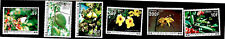 1977 Comoro Island African Coast Exotic Blooming Flowers Mint Postage Due Stamps