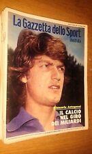 LA GAZZETTA DELLO SPORT ILLUSTRATA-ANNO 3 # 24 - 16 GIUGNO 1979 - G. ANTOGNONI