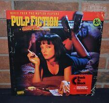 PULP FICTION - Original Soundtrack, Back To Black IMPORT VINYL + Download New!