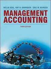 Management Accounting, Noreen, Eric, Garrison, Ray H, Seal, Will, Very Good, Pap